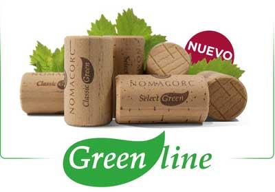 Tecnovino tapones para vino Green Line Nomacorc
