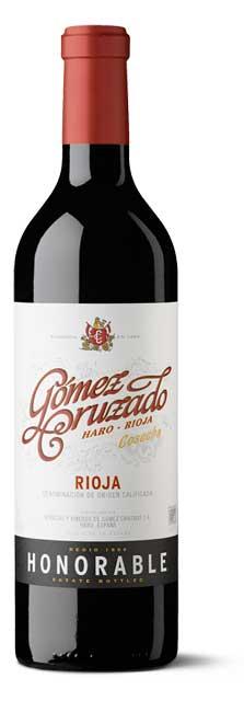 Tecnovino vinos riojanos Gomez Cruzado Honorable