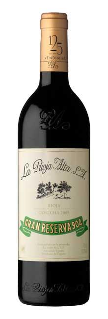 Tecnovino vinos riojanos La Rioja Alta Gran Reserva 904