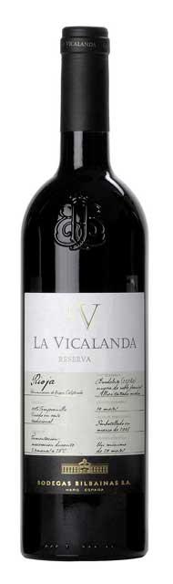 Tecnovino vinos riojanos La Vicalanda Reserva