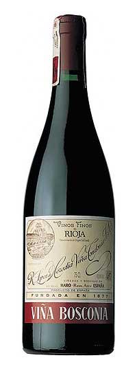 Tecnovino vinos riojanos Vina Bosconia Tinto Reserva