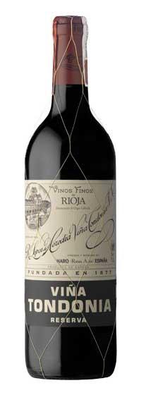 Tecnovino vinos riojanos Vina Tondonia Tinto Reserva