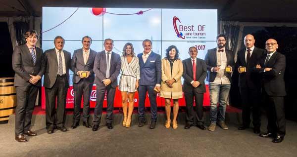Tecnovino Premios Best Of de Turismo Vitivinicola 2017 premiados