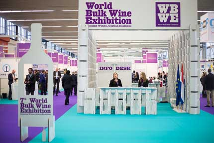 Tecnovino World Bulk Wine Exhibition 2016 vino a granel