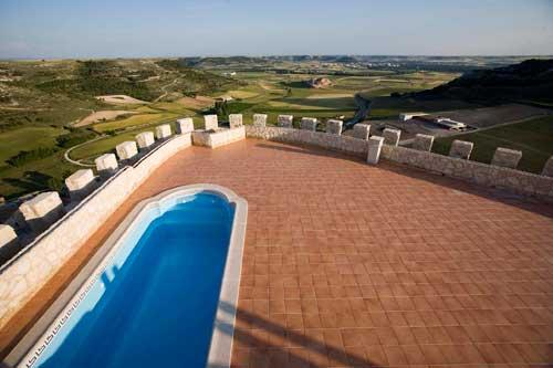 Tecnovino hoteles para hacer enoturismo Espana Castillo de Curiel 2