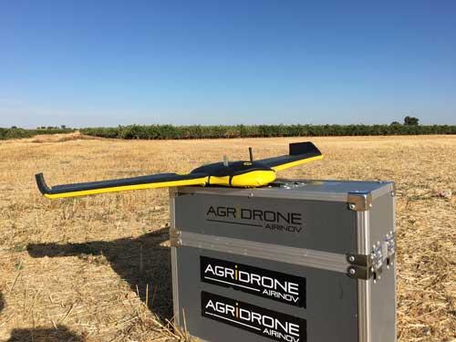 Tecnovino vendimia con drones Grupo Matarromera 1