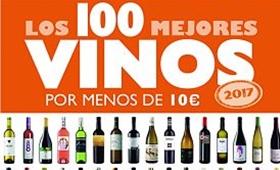 """libro """"Los 100 mejores vinos por menos de 10 euros. 2017"""""""