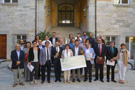 Tecnovino Premio de Emprendimiento con Corcho ICSuro