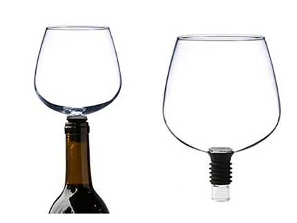 Tecnovino copa para beber vino Guzzle Buddy 1