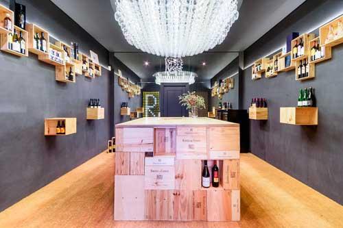 Tecnovino Pop Up Store de vinos Remirez de Ganuza 1