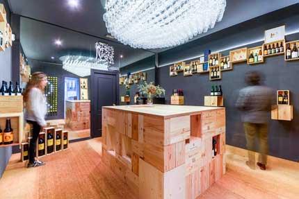 Tecnovino Pop Up Store de vinos Remirez de Ganuza 3