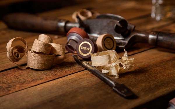 Tecnovino tapon de vino Vinolok Woody 2