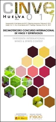 Cinve 2017, Concurso Internacional de Vinos y Espirituosos