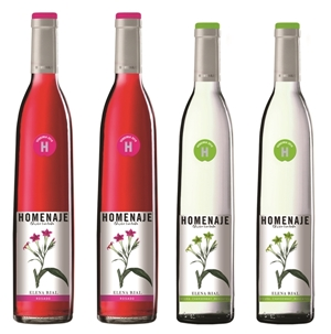 Elena Rial diseña la etiqueta de los vinos Homenaje 2016
