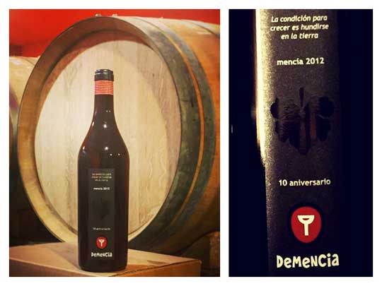 Tecnovino Demencia vino de edicion limitada
