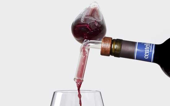 Tecnovino decantador aireador de vino Centellino 3