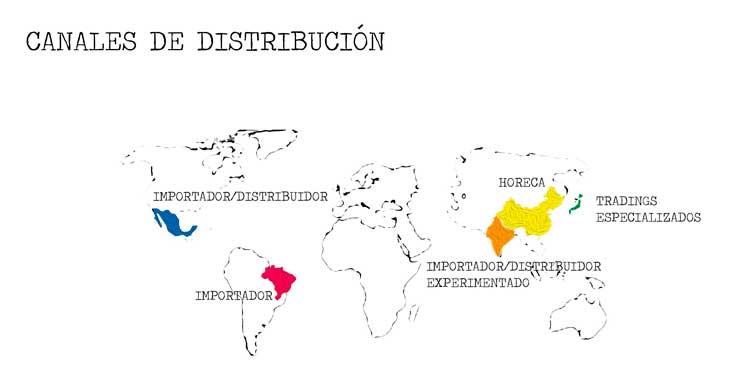 Tecnovino exportacion de vino canales distribucion Idiogram