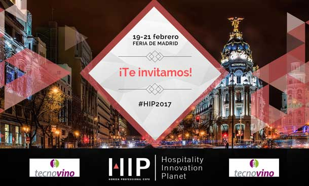 Tecnovino feria HIP 2017 te invitamos