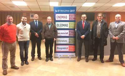 Tecnovino novedades tecnicas para viticultura y bodegas Enomaq Tecnovid jurado