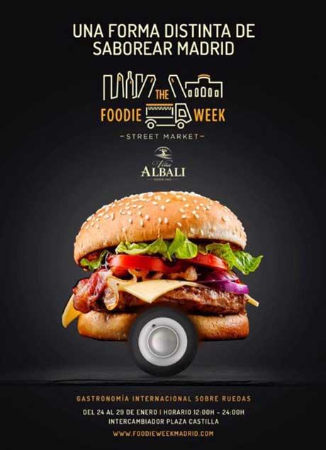 tecnovino Cartel The Foodie Week Enero