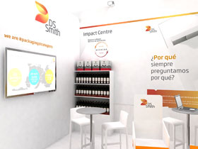 Tecnovino DS Smith soluciones packaging displays vino cava 280