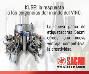 Tecnovino Defranceschi Grupo Sacmi etiquetadora Kube