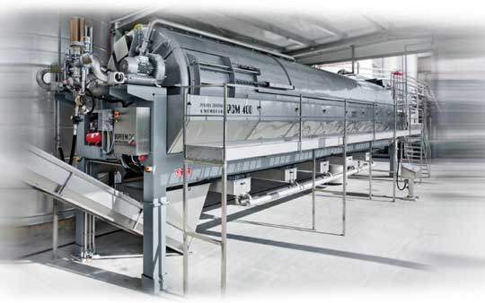 Tecnovino Siprem International prensa continua PCM 400 1