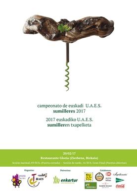 Campeonato de Sumilleres de Euskadi 2017