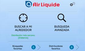 Tecnovino Air Liquide app distribuidores 280