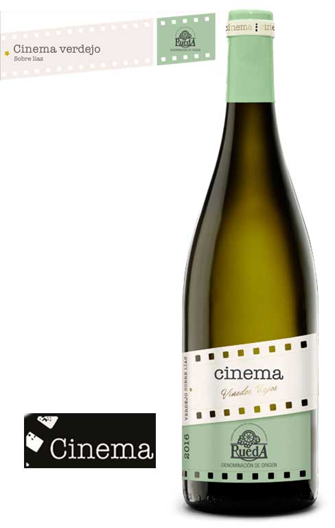 Tecnovino Cinema Verdejo sobre lias 2016 Cinema Wines