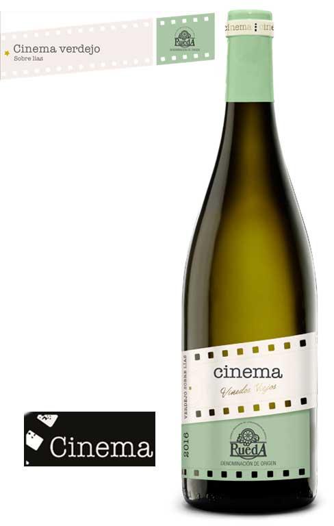 Tecnovino Cinema Verdejo sobre lias 2016 Cinema Wines