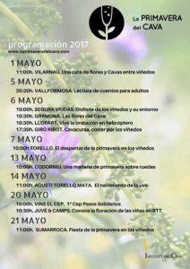 Tecnovino La Primavera del Cava cartel