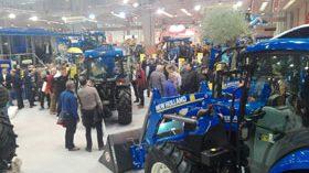 Los tractores T4 y la unidad 15.000 de vendimiadoras Braud, protagonistas de New Holland en Tecnovid