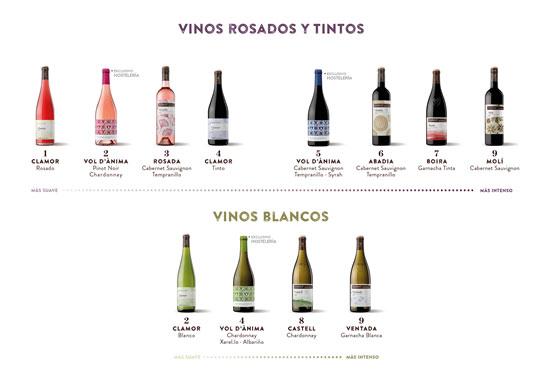 Tecnovino Raimat gama vinos