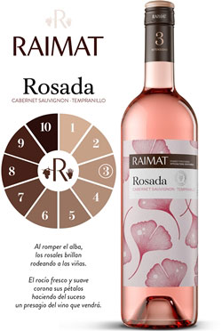 Tecnovino Raimat intensidad rosada