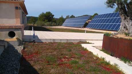 Tecnovino aislamiento termico para bodegas cubierta ajardinada Projar 1