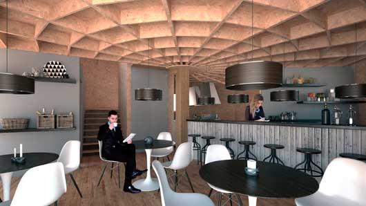 Tecnovino construccion para bodegas y en turismo Ecologic dome Chapeau Vert 7