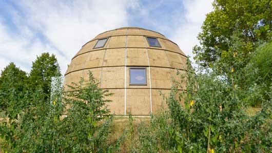 Tecnovino construccion para bodegas y en turismo Ecologic dome Chapeau Vert 8