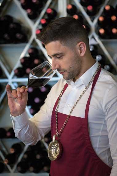 Tecnovino copa de cristal para vino Giona Dona Perfecta Exportcave sumiller