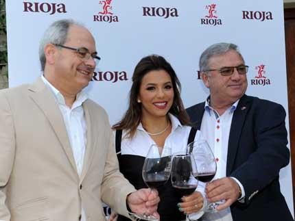 Tecnovino cosecha 2016 Rioja Eva Longoria 2