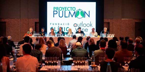 Tecnovino vino solidario Proyecto Pulmon 1