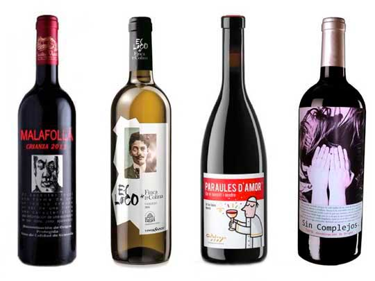 Tecnovino Salon de Gourmets vinos nombres