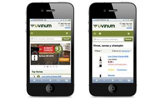 Tecnovino compra online de vino en Espana Uvinum App 328x200