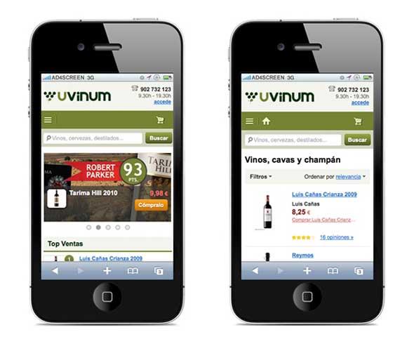 Tecnovino compra online de vino en Espana Uvinum App