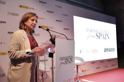 Tecnovino Alimentos y vinos de Espana Icex secretaria