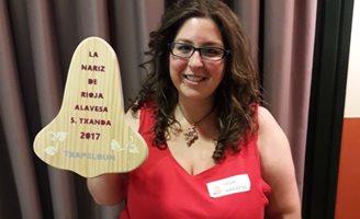 Idoia Villar, Mejor Nariz de Rioja Alavesa 2017