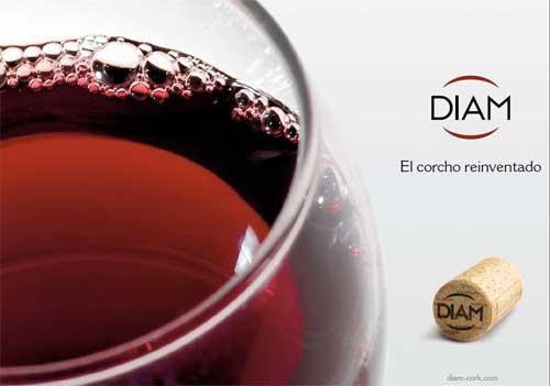 Tecnovino cierres de Diam corcho vino