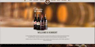 En marcha la tienda online de Williams & Humbert