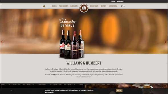 Tecnovino tienda online de Williams Humbert 1