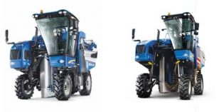 La era de la vendimia inteligente arranca con la vendimiadora Braud de New Holland